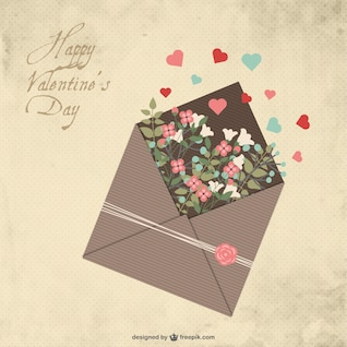 La lettre Saint Valentin