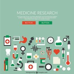 la recherche de médecine