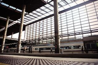 La structure de la gare