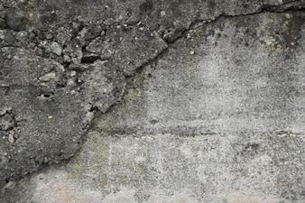 La texture rugueuse de la pierre