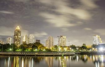 Le coup de nuit de Bangkok