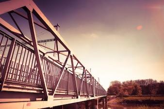 Le pont en acier