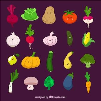Légumes drôles