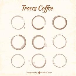 Les taches de café emballer