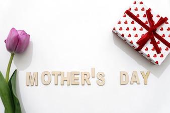 Lettre mignon de la fête des mères