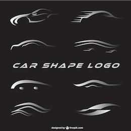 Logos de voiture mis en