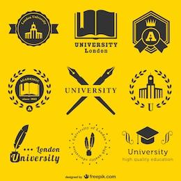 Logos universitaires modèle