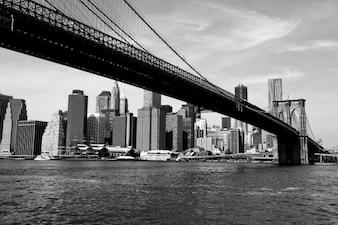 Longue structure du pont