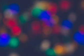 Lumières de Noël fond bokeh