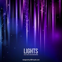 Lumières scintillantes fond
