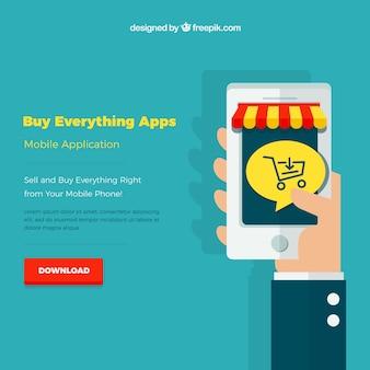 Magasinez en application en ligne