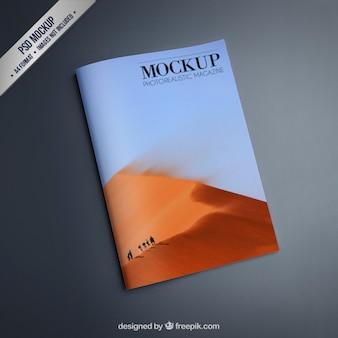 Magazine maquette