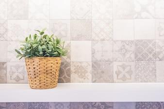 Maison nature couleur blanc propre