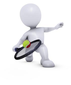 Man gagner un match de tennis