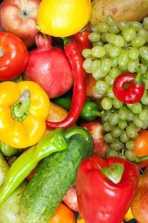 mélange de fruits frais