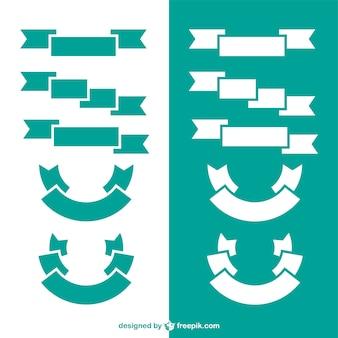 Rubans géométriques minimalistes