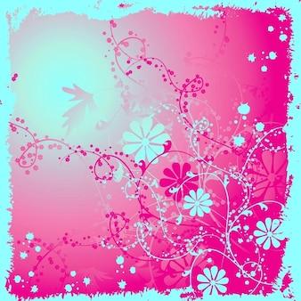 mise en fleurs