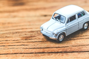 Modèle de voiture vintage