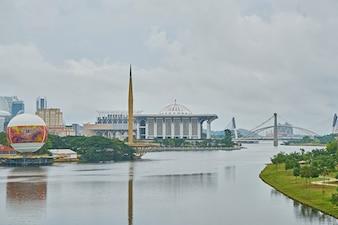 Mosquée architecture de religion rivière musulman