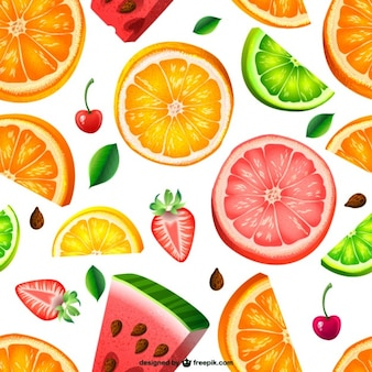 Motif de fruit sans soudure