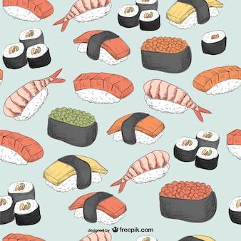 motif de Sushi