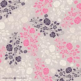 Motif floral libre