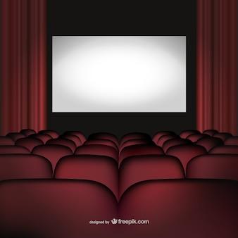Vecteur de cinéma de cinéma