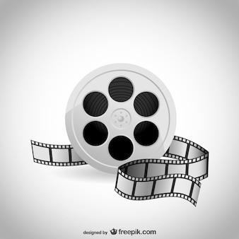 Vecteur d'un film de cinéma