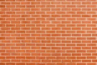 Mur de brique vintage brun rouge avec structure minable. Fond d'écran en brique horizontale. Grungy texture de mur blanc en briques rouges. Façade rétro de la maison. Bannière web panoramique abstraite. Surface Stonewall