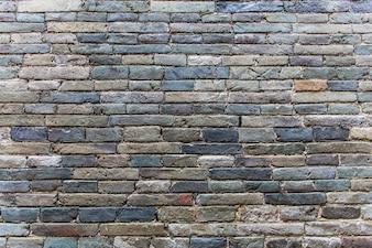 Mur de briques bleu