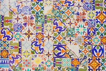 Mur zelliges mosaïque islam