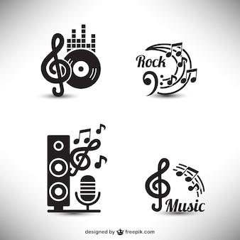 éléments graphiques de musique