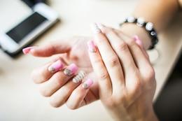 Nails dans purpurine