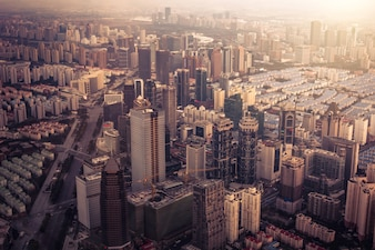 New york paysage urbain de la ville