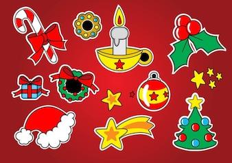 Noël vecteur de séquence