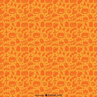 Noir orange Halloween