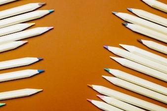 Nouveaux crayons de couleur