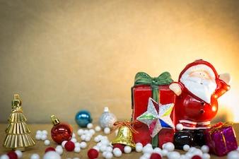 Nouvel an et fond de Joyeux Noël