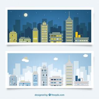 Nuit et jour, ville