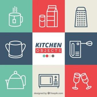 objets de cuisine