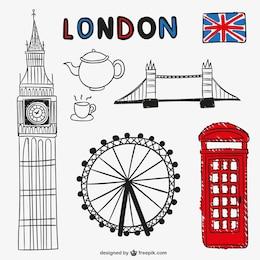 Objets et monuments de Londres