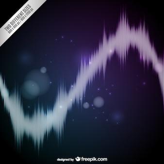 Onde sonore abstrait