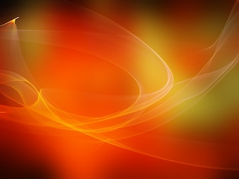 Orange fond abstrait avec des vagues