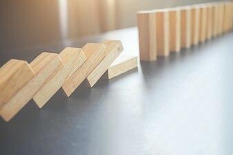 Organe de risque en bois réussie