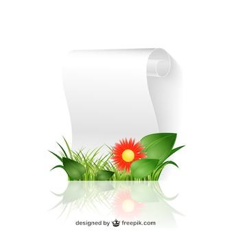Papier Floral défilement