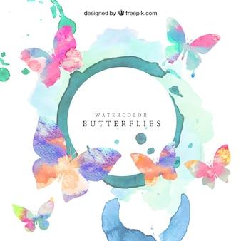 papillons Aquarelle