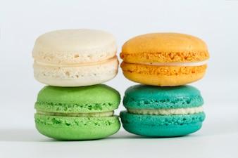 Paquet de quatre biscuits colorés