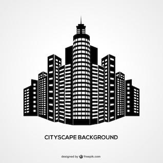 Paysage urbain fond