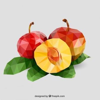 Peachs polygonales
