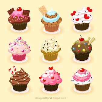 Petits gâteaux délicieux
